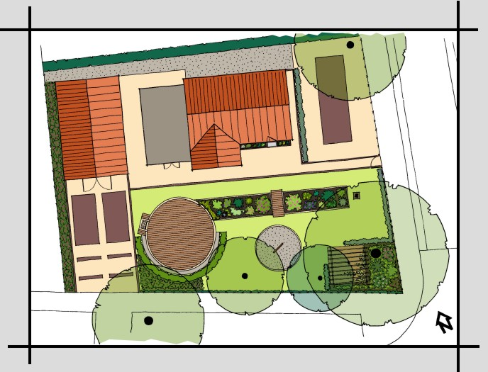 Great plattegrond tuin with plattegrond tuin for Plattegrond tuin maken